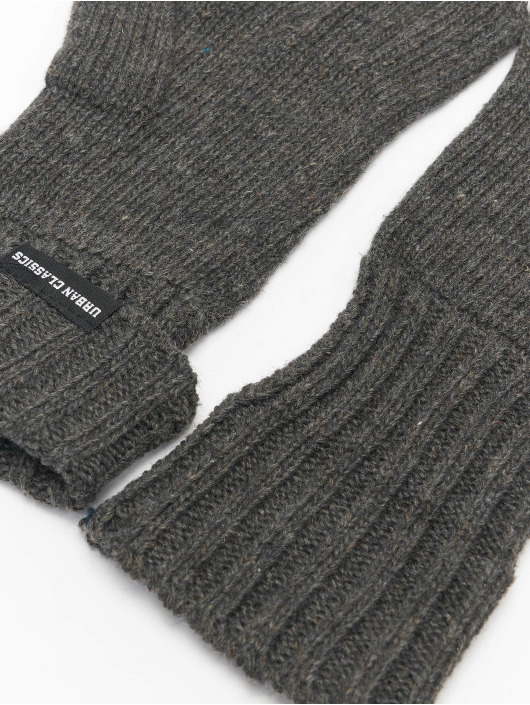 Urban Classics Handschuhe Knit grau