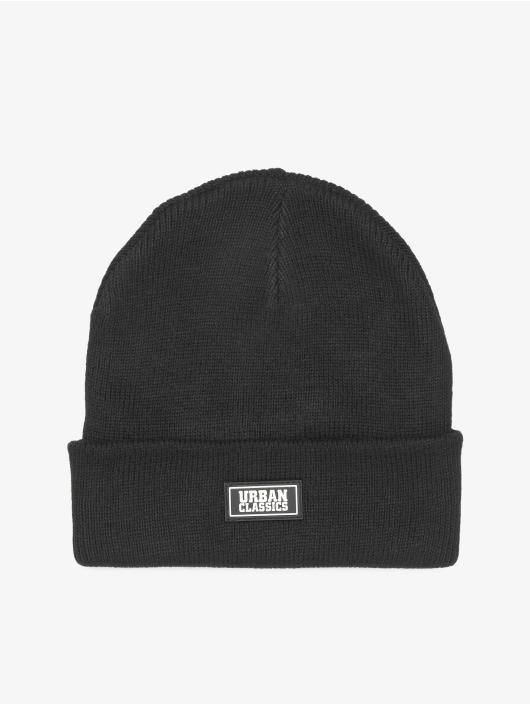 Urban Classics Hat-1 Plain Stitch Recycled Yarn black