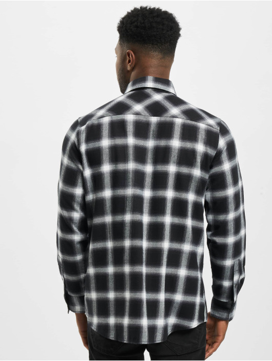 Urban Classics Hemd Oversized Checked schwarz