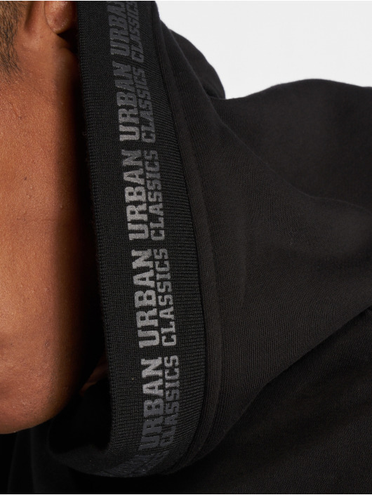 Urban Classics Hettegensre Oversize Logo svart