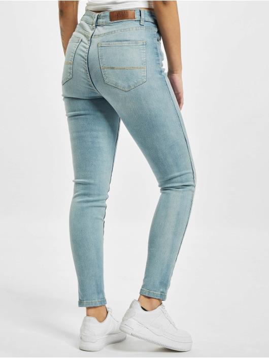 Urban Classics High Waist Jeans Skinny High Waist blau