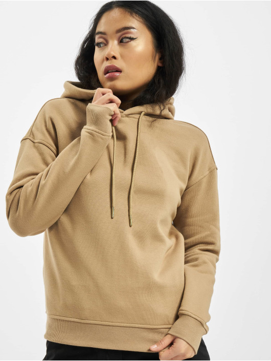Urban Classics Hoodie Ladies beige