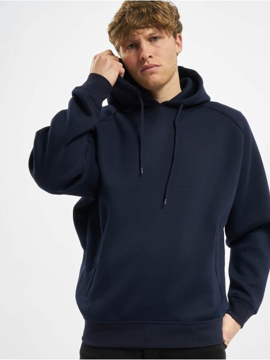 Urban Classics Hoodie Raglan Zip Pocket blå
