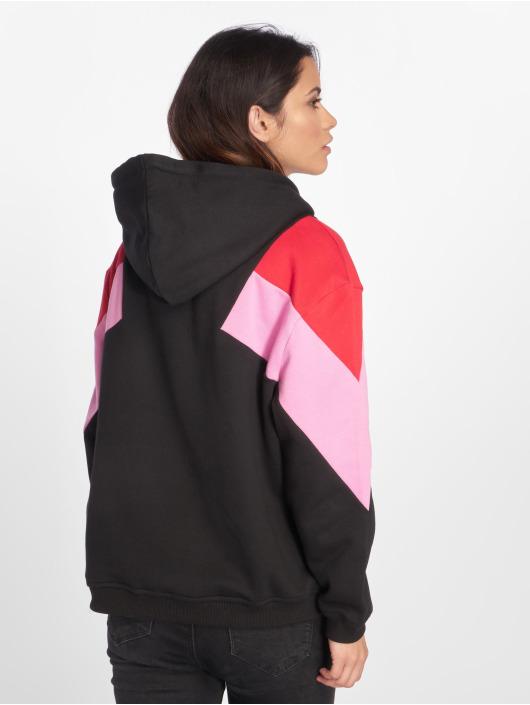 Urban Classics Hoodie Oversize 3-Tone Block black