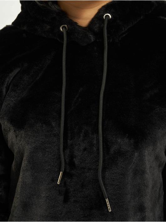 Urban Classics Hoodie Oversize Short Teddy black