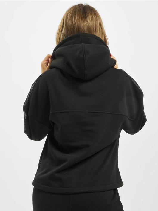 Urban Classics Hoodie Oversized Tech Mesh Inset black