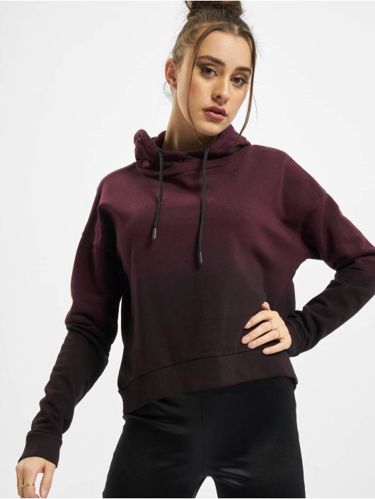 Urban Classics Hoodie Ladies Dip Dye black