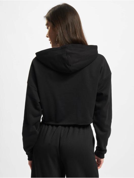 Urban Classics Hoodie Ladies Oversized Cropped black