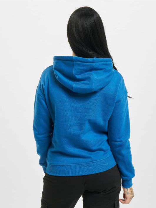 Urban Classics Hoodie Ladies blue