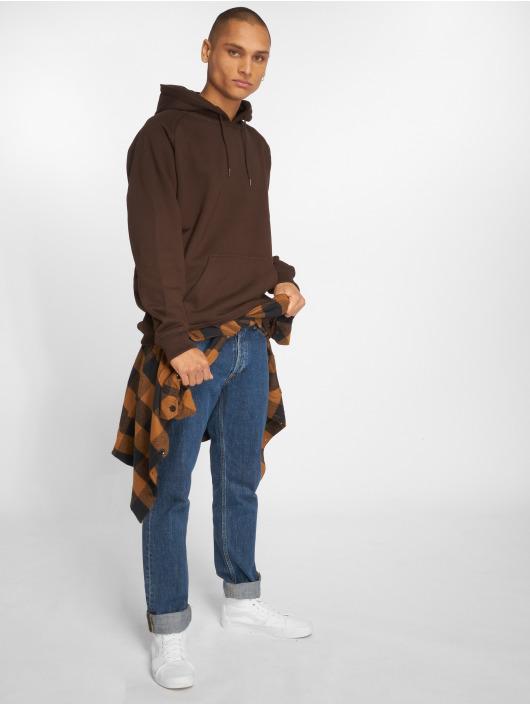 Urban Classics Hoodie Blank brown