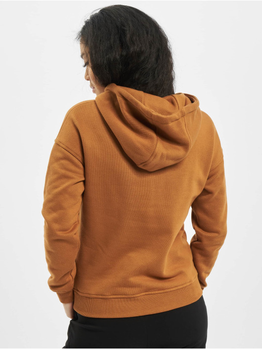 Urban Classics Hoodie Ladies brown
