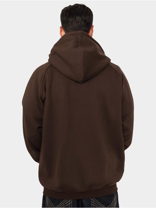 Urban Classics Hoodie Blank brun