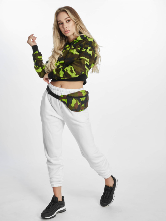 Urban Classics Hoodie Cropped Camo camouflage