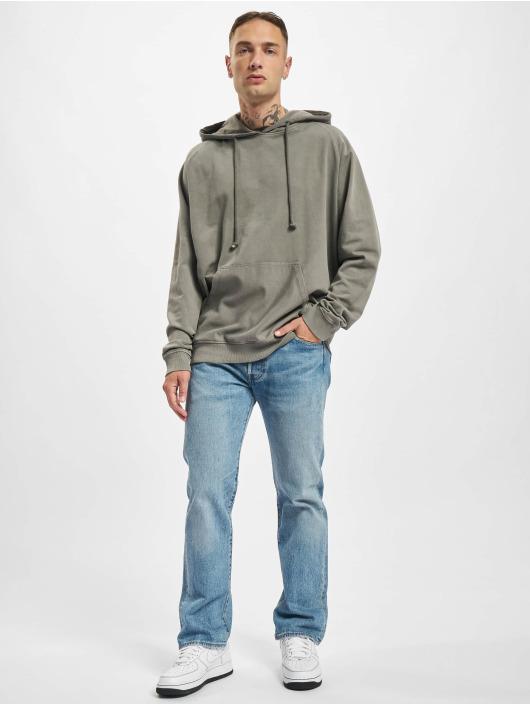 Urban Classics Hoodie Overdyed grå