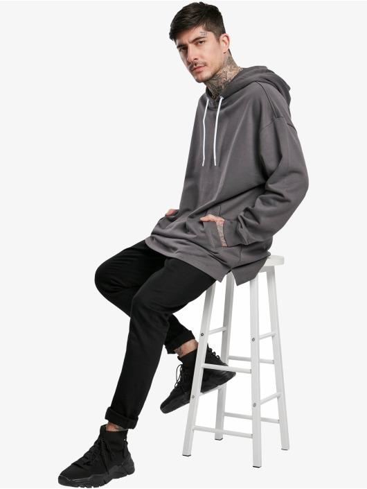 Urban Classics Hoodie Long gray