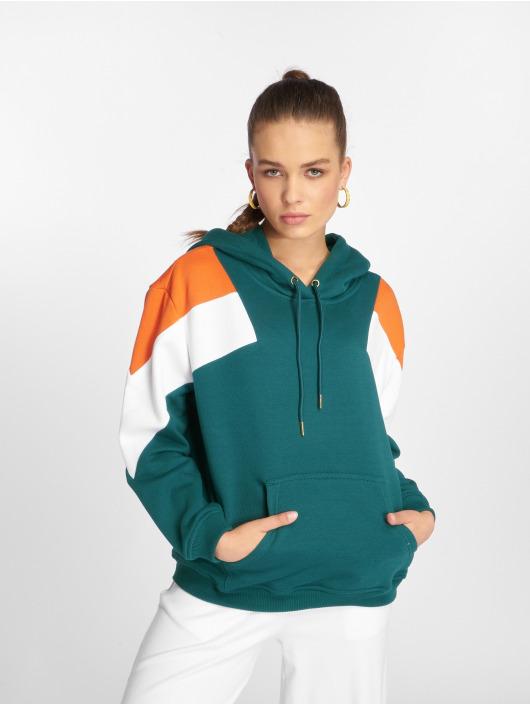 Urban Classics Hoodie Oversize 3-Tone Block green