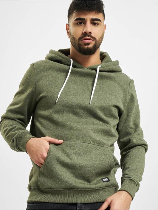 Urban Classics Hoodie Basic green