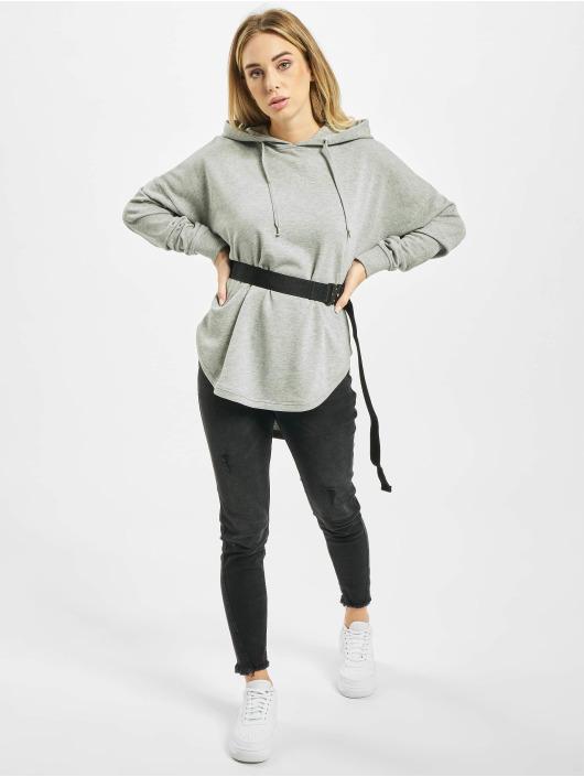 Urban Classics Hoodie Ladies Oversized Terry grey