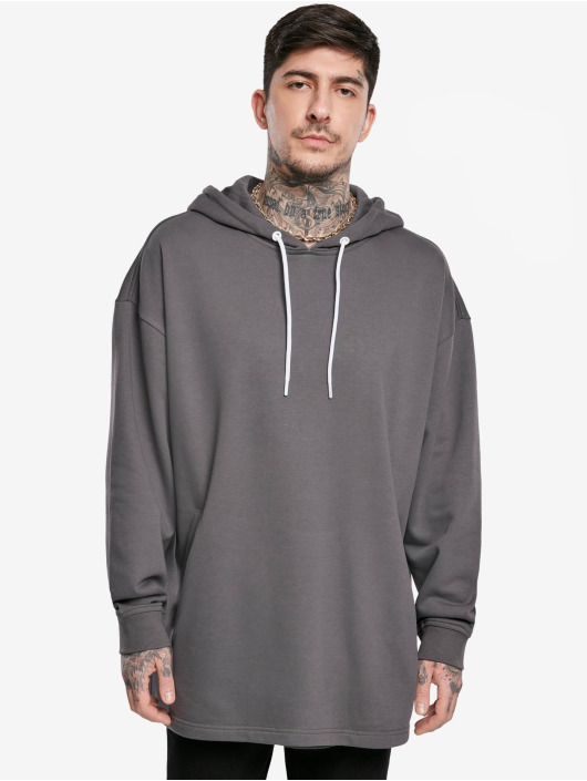 Urban Classics Hoodie Long grey