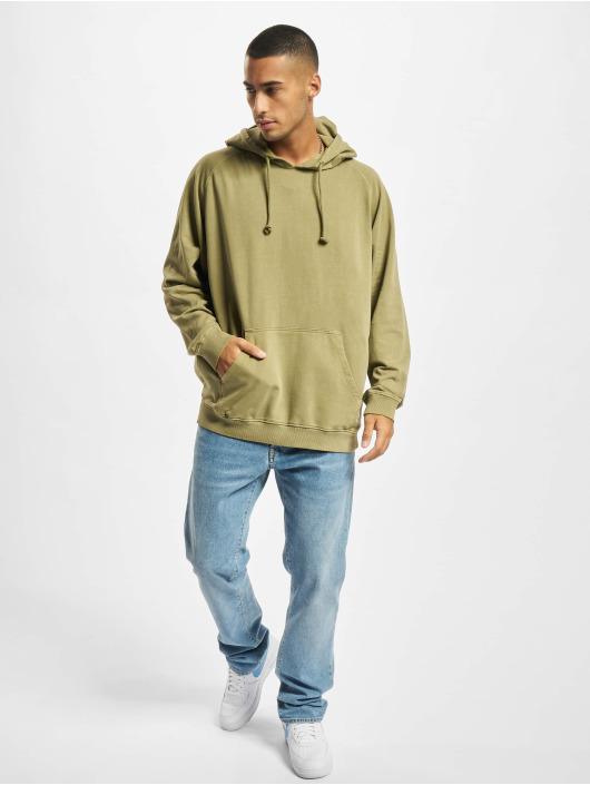 Urban Classics Hoodie Overdyed khaki