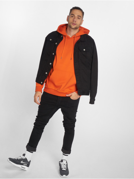 Urban Classics Hoodie Oversized orange