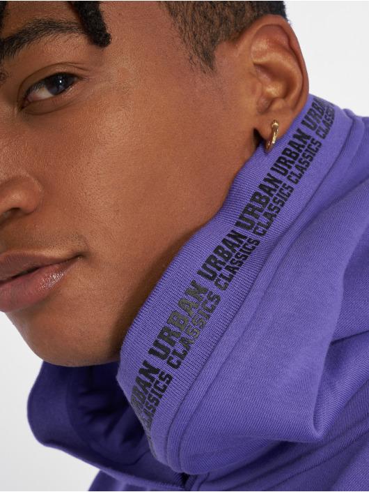 Urban Classics Hoodie Oversize purple