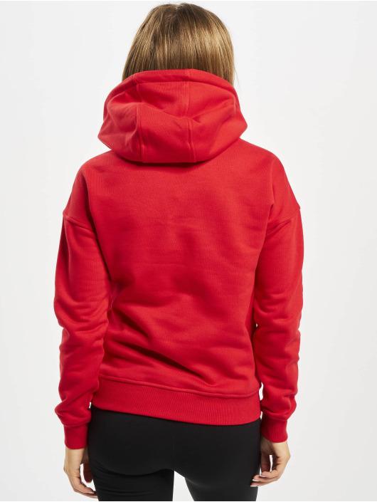 Urban Classics Hoodie Ladies red