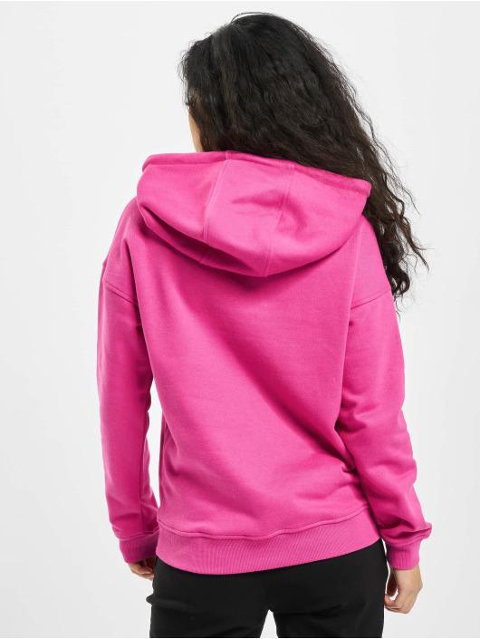 Urban Classics Hoodie Ladies rosa