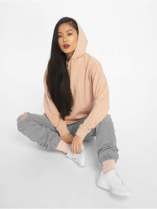 Urban Classics Hoodie Oversized Terry rose