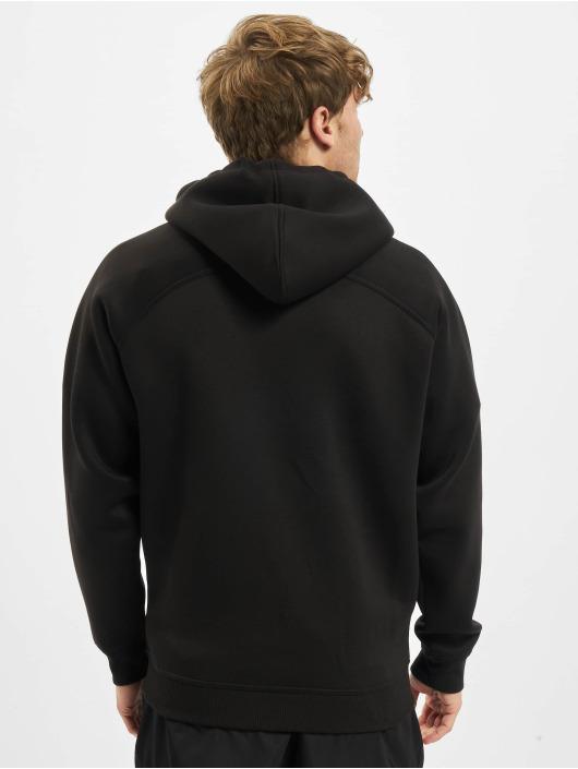Urban Classics Hoodie Raglan Zip Pocket svart