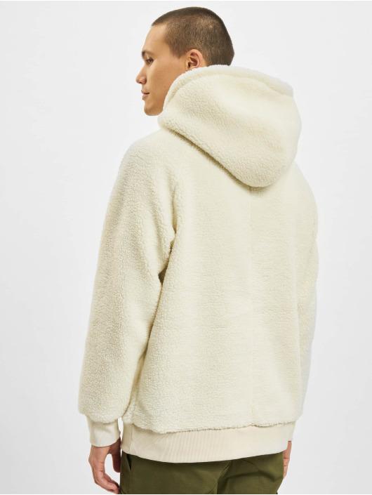 Urban Classics Sherpa Hoody Off White