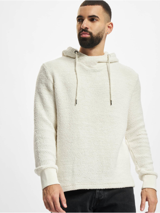 Urban Classics Hoodie Loose Terry Inside Out vit