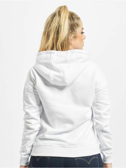 Urban Classics Hoodie Ladies white