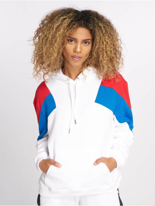 Urban Classics Hoodie Oversize 3-Tone white