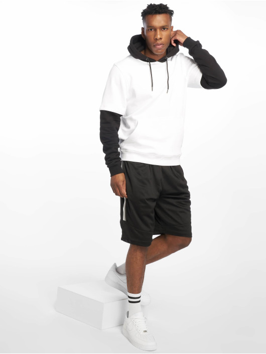 Urban Classics Hoodie Double Layer white