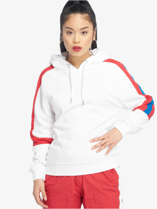 Urban Classics Hoodie Panel Terry white