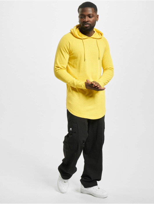Urban Classics Hoodie Long Shaped Terry yellow