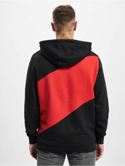 Urban Classics Hoodies Zig Zag čern