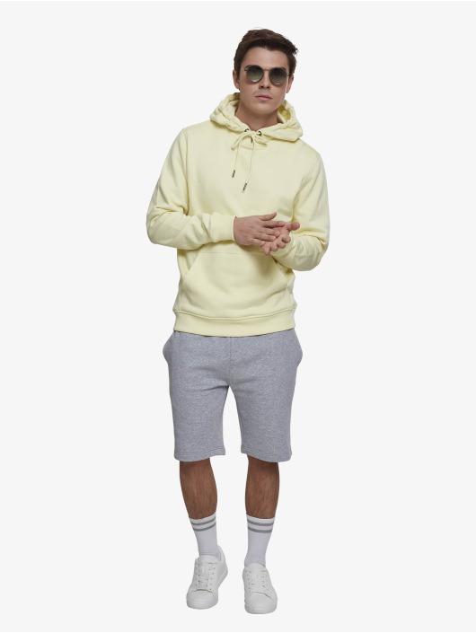 Urban Classics Hoodies Basic žlutý