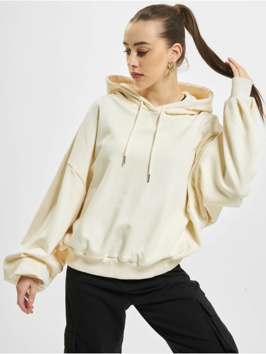 Urban Classics Hoodies Ladies Organic Oversized Terry beige