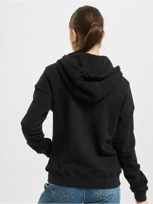 Urban Classics Hoodies con zip Organic Terry nero