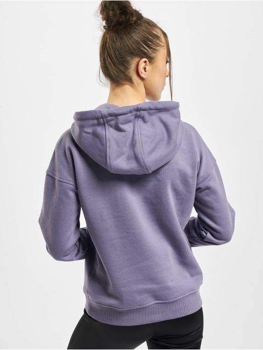 Urban Classics Hoodies Ladies fialový