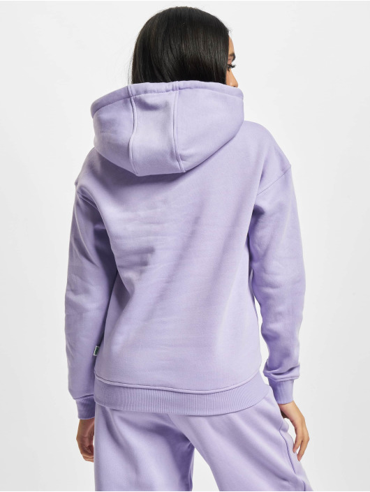 Urban Classics Hoodies Ladies Organic fialový