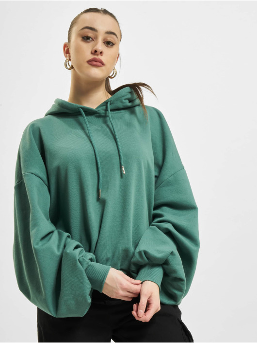 Urban Classics Hoodies Ladies Organic Oversized Terry grøn