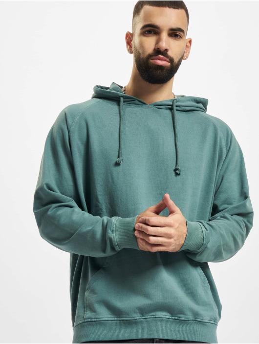 Urban Classics Hoodies Overdyed modrý