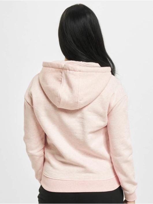 Urban Classics Hoodies Ladies rosa