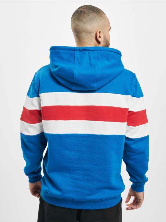 Urban Classics Hoody Chest Striped blau