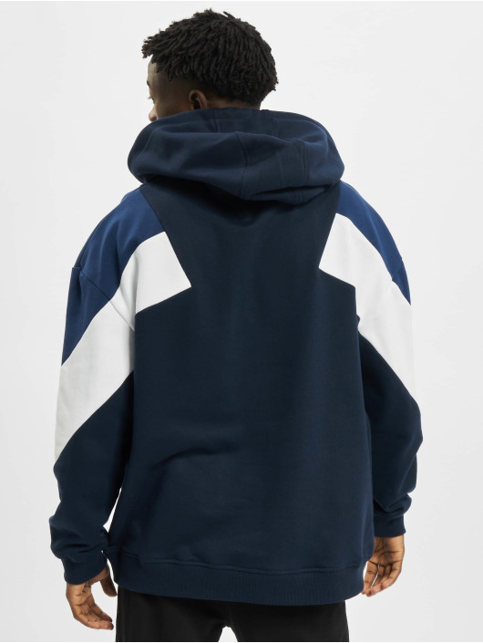 Urban Classics Hoody Oversize 3-Tone blau