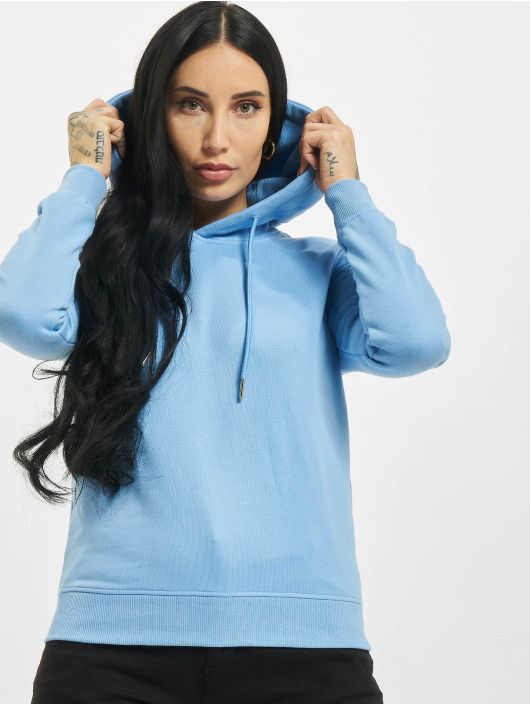 Urban Classics Hoody Ladies blau