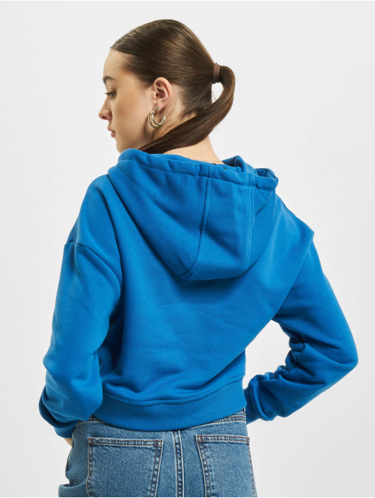 Urban Classics Hoody Short Terry blau